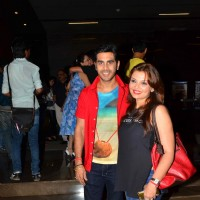 Deepshikha Nagpal and Kaishav Arora were at Special Screening of Kaun Kitney Paani Mein