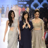 Nishka Lulla, Neeta Lulla and Tamannaah Bhatia at Lakme Fashion Week Day 5