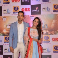 Anita Hassanandani and Her Husband at GR8 ITA Awards