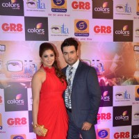 Vivian Dsena and Vahbbiz Dsena at GR8 ITA Awards