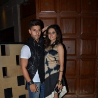 Ravi Dubey and Sargun Mehta Poses at Birthday Bash
