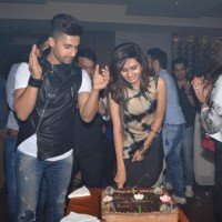 Sargun Mehta Cuts the Cake at Her Birthday Bash