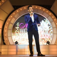 Karan Tacker at Finale of 24th Miss India Worldwide 2015