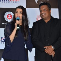 Aishwarya Rai Bachchan and Sanjay Gupta at Song Launch of Jazbaa