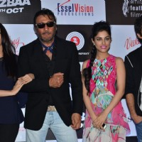 Aishwarya, Jackie, Priya Banerjee and Siddhanth Kapoor at Song Launch of Jazbaa
