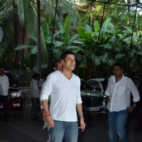 Sudesh Berry at Aadesh Shrivastava's Prayer Meet