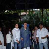 Raza Murad at Aadesh Shrivastava's Prayer Meet