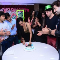 Gurmeet Choudhary and Debina Boerjee at Sangeeta Kapure Birthday Bash