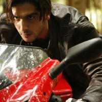 Zayed Khan looking angry