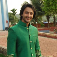 Dhruv Bhandari on the Sets of Tere Sheher Mein