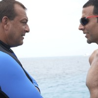 Akshay Kumar giving challenge to Sanjay Dutt | Blue Photo Gallery