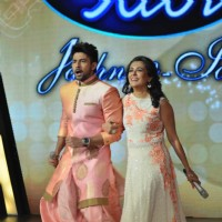Hussain Kuwajerwala and Mini Mathur at Indian Idol Special Episode With Mini Mathur and Farah Khan