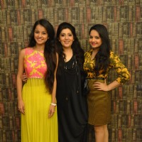 Mahima Makwana, Archa Kochhar and Giaa Manek at a Charity Event