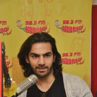 Karan V Grover for Promotions of Wedding Pullav at Radio Mirchi