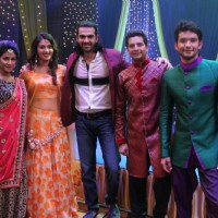 Diganth, Karan V Grover and Anushka Ranjan Promotes Wedding Pullav on Yeh Rishta Kya Kehlata Hai