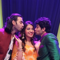 Karan V Grover, Anushka Ranjana and Diganth Promotes Wedding Pullav on Yeh Rishta Kya Kehlata Hai