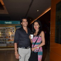 Karanvir Bohra and Kishwer Merchant at Screening of Kis Kisko Pyaar Karoon