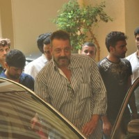 Sanjay Dutt Leaves for Jail Term