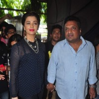 Aishwarya Rai Bachchan and Sanjay Gupta at the Promotions of Jazbaa