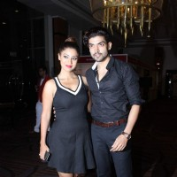 Debina and Gurmeet Choudhary at the Globoil Awards