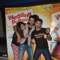 Anushka Ranjan, Diganth and Karan V Grover Does Promotions of Wedding Pullav