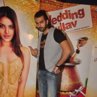 Karan V Grover at Promotions of Wedding Pullav