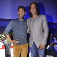 Prabhu Dheva and Kay Kay Menon at the Special Screening of Singh is Bling