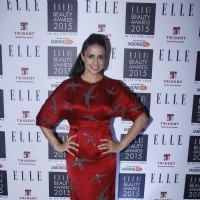 Gul Panag was at Elle Beauty Awards