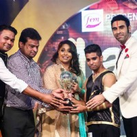 Sandip Soparkar and Geeta Kapur at Jhalak Dikhala Jaa UAE Season 4