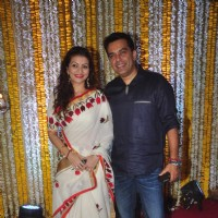 Prachi Shah at 'Mata Ki Chowki' Hosted By Ronit Roy on His Birthday