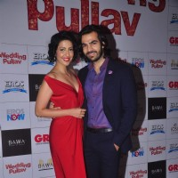 Karan V Grover at the Premier of Wedding Pullav