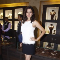 Aditi Gowitrikar at Launch of TBZ Jewellery Store