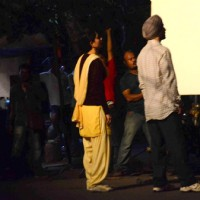 Kareena Kapoor and Diljit Dosanjh on Location of Udta Punjab
