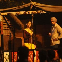 Kareena Kapoor with Diljit Dosanjh on Location of Udta Punjab