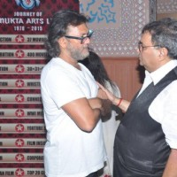 Rakeysh Omprakash Mehra and Subhash Ghai at Celebration of 37 Years of 'Mukta Arts'