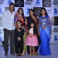 Cast of Zee TV's 'Kaala Teeka' at the launch of Show