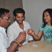 Karanvir Bohra and Teejay Sidhu at the Announcement of the Film 'Saas Bahu Saajish'