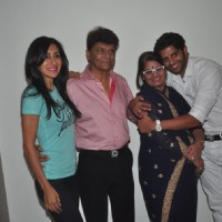 Karanvir Bohra and Teejay Sidhu snapped at the Announcement of the Film 'Saas Bahu Saajish'