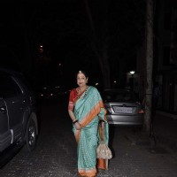 Kirron Kher was snapped at Karva Chauth Celebrations at Anil Kapoor's Residence