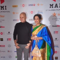 Anupam and Kirron Kher at MAMI Film Festival Day 1