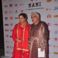 Shabana Azmi and Javed Akhtar at MAMI Film Festival Day 1