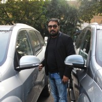 Anurag Kashyap Snapped at Airport