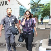 Sonakshi Sinha Snapped at Airport