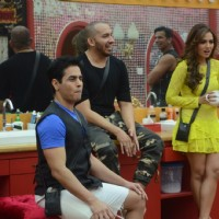 Bigg Boss Nau 9: Day 24 - Sanaa Khan, Ali Quli Mirza and Aman Verma