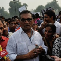 Abhijeet at #MarchforIndia Protest