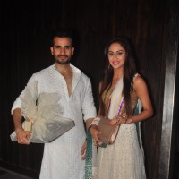 Karan Tacker and Krystelle Dsouza at Sushil Gupta's Diwali Bash