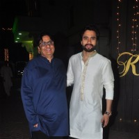 Jackky and Vashu Bhagnani at Shilpa Shetty's Diwali Bash