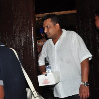Sanjay Gupta at Aaradhya Bachchan's Birthday Bash