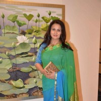 Poonam Dhillon at an Art Exhibition