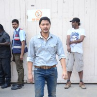 Shreyas Talpade Snapped During the Shoot of Great Grand Masti